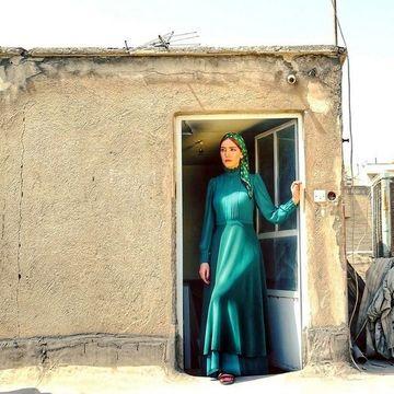 لباس نامتعارف متین ستوده در یک جای عجیب + عکس