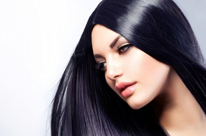 طرز تهیه رنگ موی مشکی خانگی