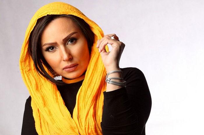 آخرین بازیگر ایرانی که امروز مهاجرت کرد   تصاویر پرستو صالحی