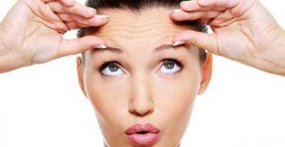درمان چین و چروک ناحیه پیشانی