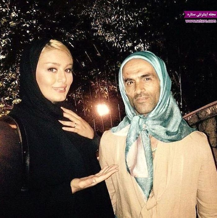 سحر قریشی در آغوش یک مرد زن نما + عکس