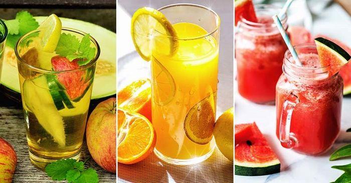تهیه نوشیدنی های سالم و تابستانی