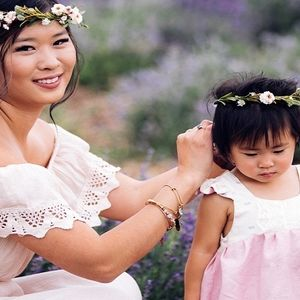 ۱۰ ایده ساده برای ست کردن مادر و دختری