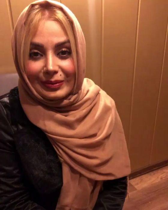 لباس لختی صبا راد در آسانسور!+عکس