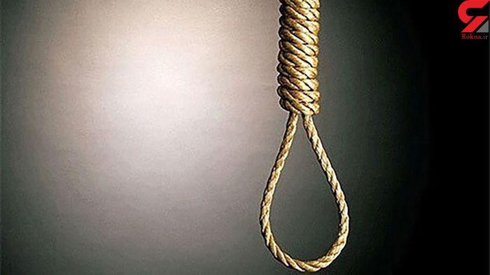 پاره شدن طناب دار از گردن این اعدامی