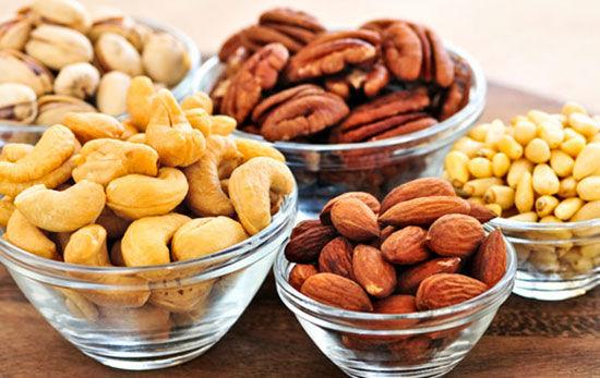 اهمیت مصرف مغزها در وعده غذایی
