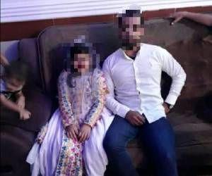 عقد جنجالی این دختربچه  9 ساله با پسر 30 ساله