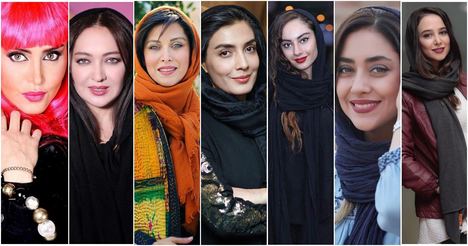 زیباترین بازیگران زن ایرانی | نیکی کریمی ، مهتاب کرامتی ، ساره بیات ، بهاره کیان افشار، الناز حبیبی ، ترلان پروانه ، لیلا زارع ، الناز شاکردوست
