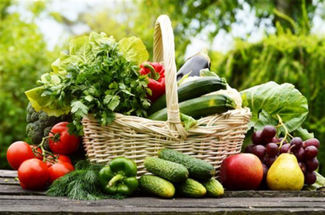 نکاتی درباره مصرف گروه میوه ها و سبزیجات