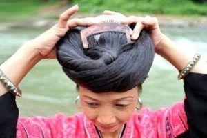 بلند ترین موهای دنیا متعلق به زنان این روستاست + عکس