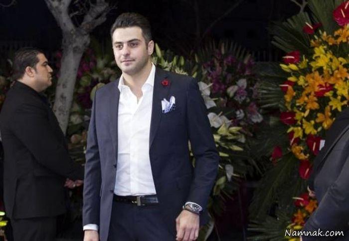 ازدواج علی ضیا رسمی شد+عکس همسر
