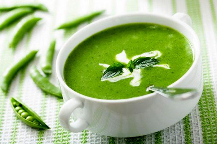 چگونه سوپ نخود فرنگی درست کنیم؟