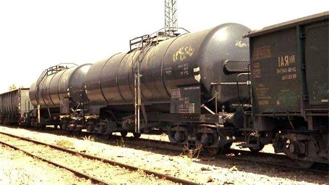 ترمز بریدن وحشتناک قطار در سمنان + فیلم +16