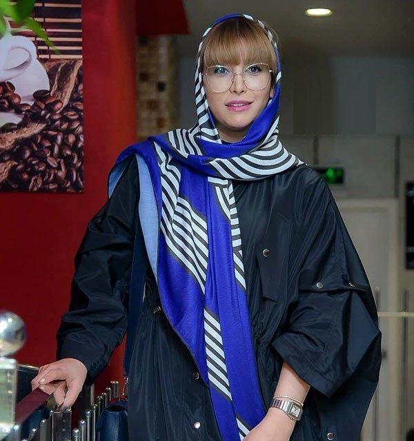 ظاهر پوشیده فریبا نادری+ عکس