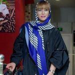 حجاب پوشیده فریبا نادری+ عکس