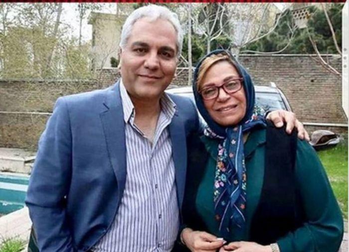 مهران مدیری کنار خانم بازیگر لاکچری + عکس