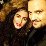 عاشقانه های مهدی سلوکی و همسرش در آغوش هم+تصاویر