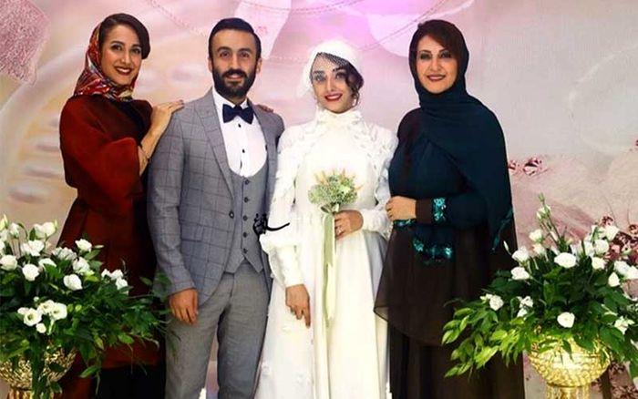 ماجرا جنجال جواهرات و لباس عروس گران قیمت عروس بازیگر معروف + عکس
