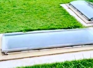 تا حالا قبرستان شیشه ای دیده بودید؟   ویدئو ترسناک +16