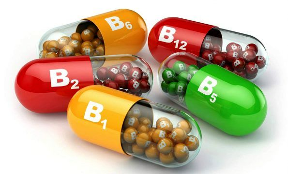 منابع مهم ویتامین B۴(آدنین)، ویتامین B۶ و B۱۲