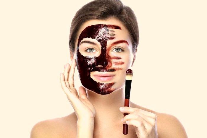 بهبود پوست و زیبایی با ماسک شکلات
