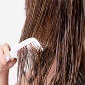 موی خیس را شانه نکنید
