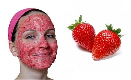 با توت فرنگی برای صورتتان ماسک بسازید