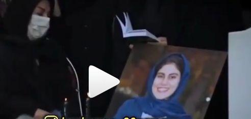 گریه تلخ خانواده های خبرنگاران فوت شده سر مزار (فیلم)