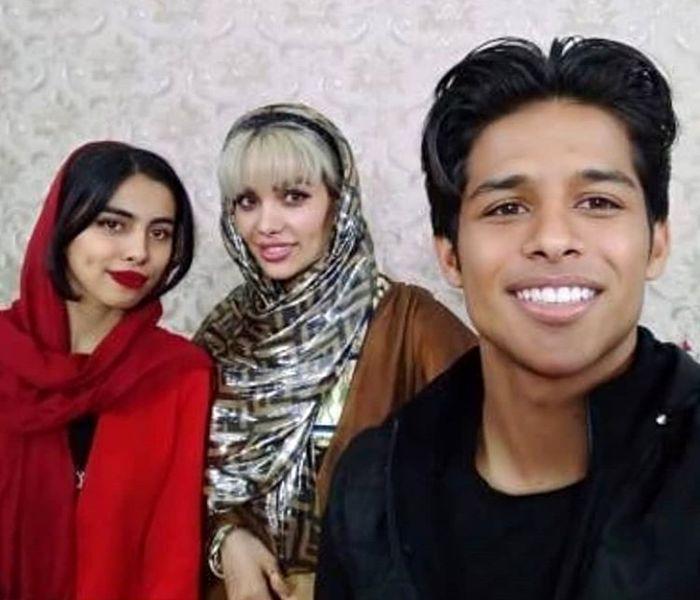 لو رفتن سورپرایز مهدی قائدی برای روز تولد خواهر زنش