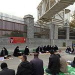 تجمع اعتراضی معلمان بابت حقوقشان