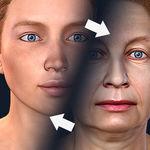 تغییر چهره در دهه سوم، چهارم و پنجم زندگی