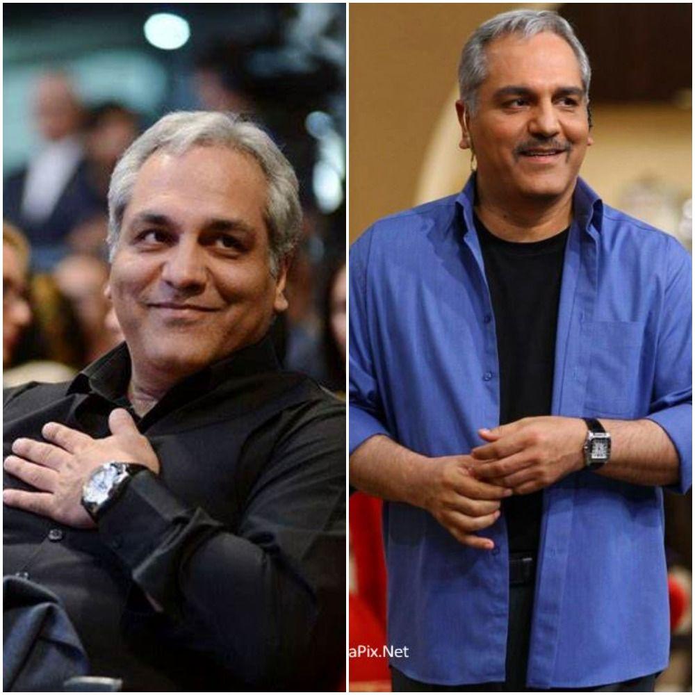 عکس دو نفره مهران مدیری و همسرش | تصاویر مهران مدیری