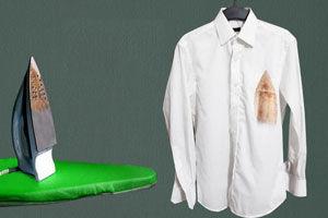 با این روش عالی سوختگی لباس تان با اتو را احیا کنید  +عکس