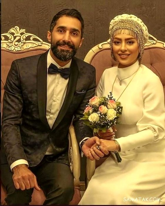 عروسی لاکچری سمانه پاکدل+عکس
