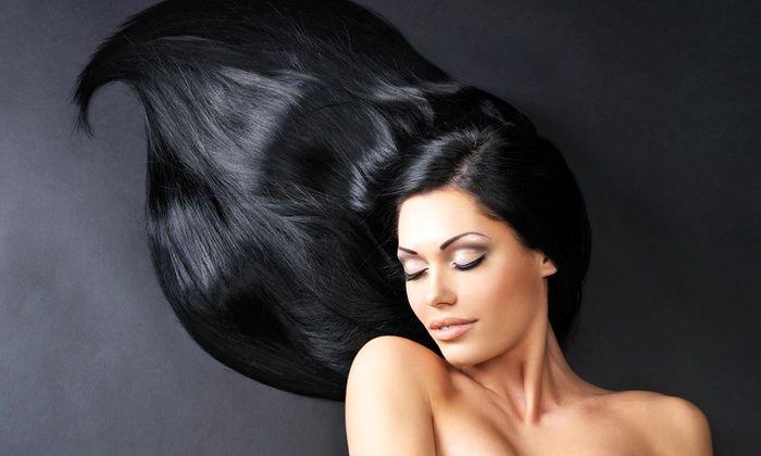 طرز تهیه رنگ موی طبیعی مشکی