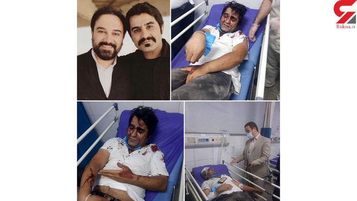 حمله خونین به  این 2 بازیگر سریال دودکش + عکس ها