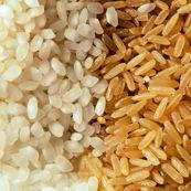 ارزش تغذیه ای برنج سفید درمقایسه با برنج قهوه ای