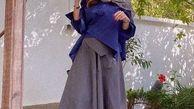 دامن فوق کوتاه همسر شاهرخ استخری + عکس